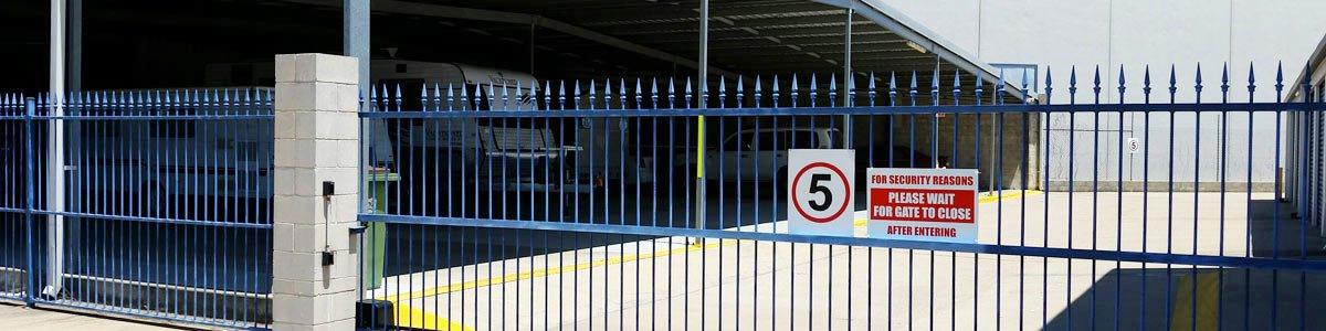 townsville secur self storage gate