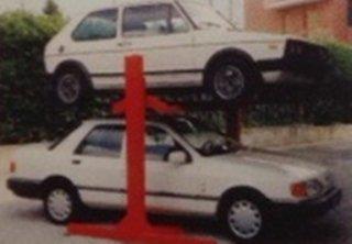 elevatore auto colonne centrali