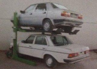 elevatore auto due colonne