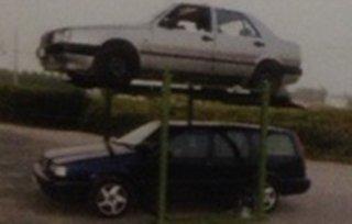 elevatore auto quattro colonne