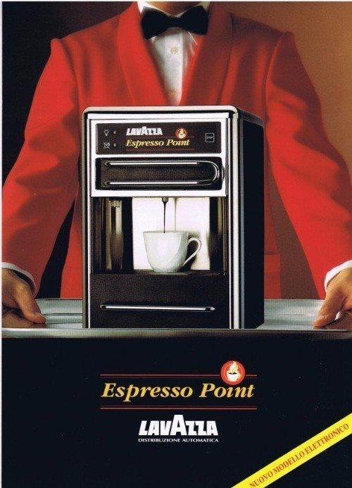 macchina per il caffè bianca