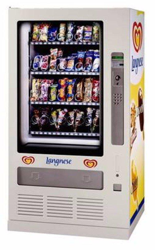 distributore automatico di gelati algida