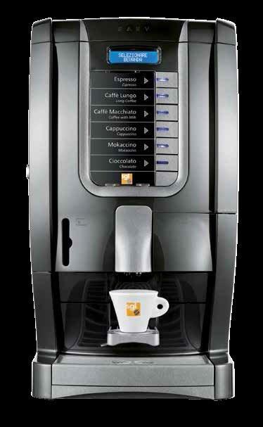macchina per il caffè scura