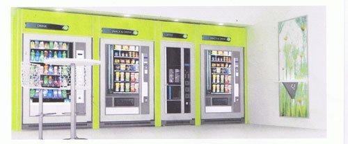 postazione con diversi distributori automatici