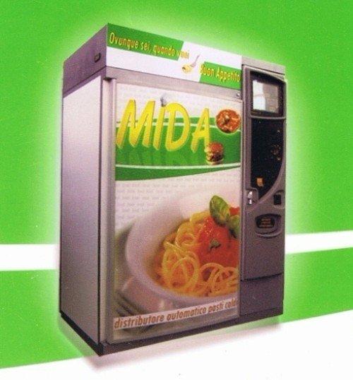 distributore automatico di pasti caldi