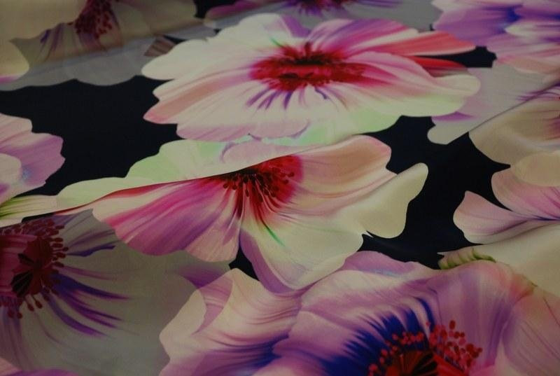 Tessuto a fiori