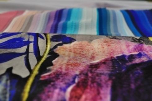 tela ligera de color
