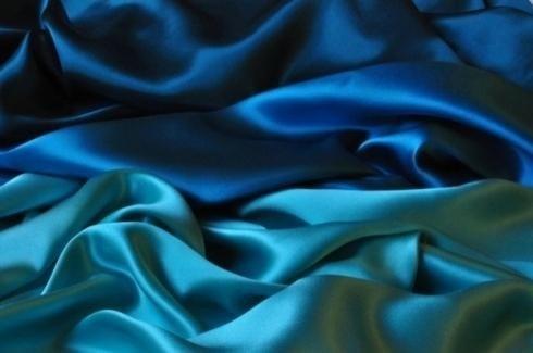raso azul y turquesa
