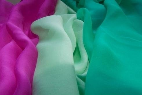 organza de colores lisos