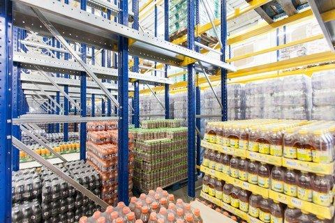 stoccaggio di bevande per la distribuzione automatica