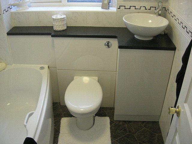 bathroom carpentry