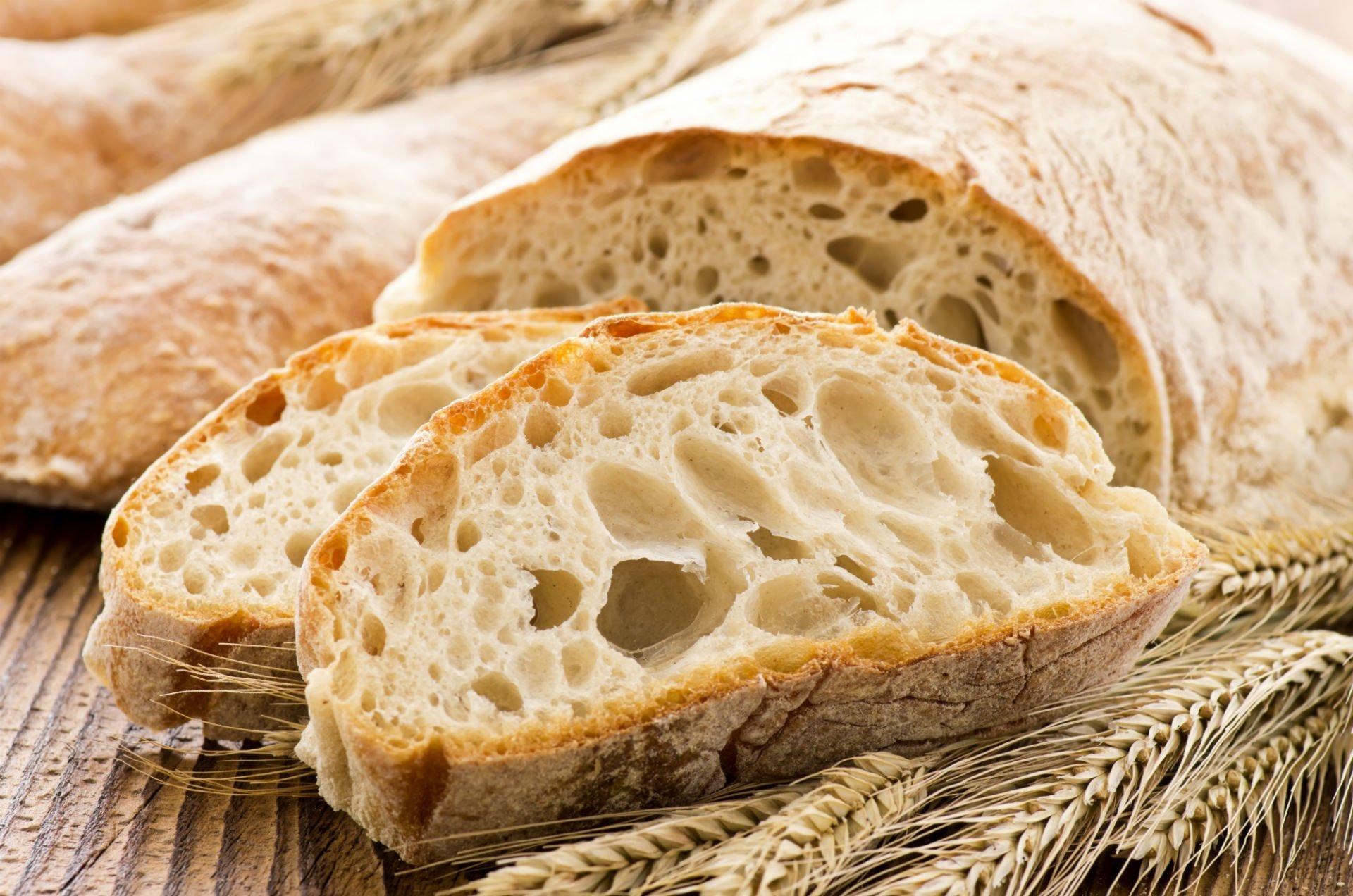delle fette di pane