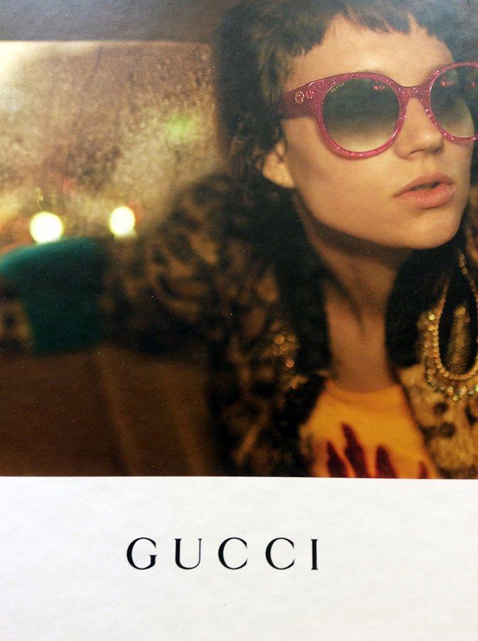 occhiali da sole a marchio GUCCI