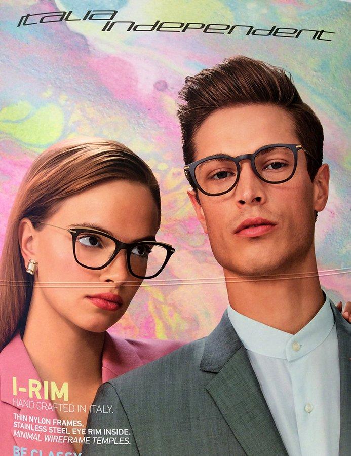 occhiali da vista a marchio ITALIA INDIPENDENT
