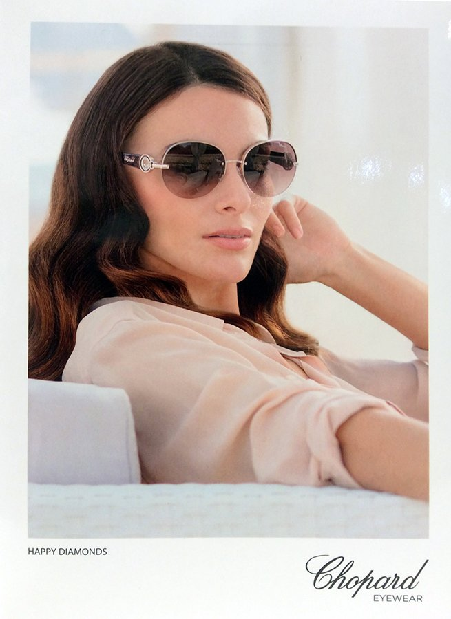 occhiali da sole a marchio Chopard