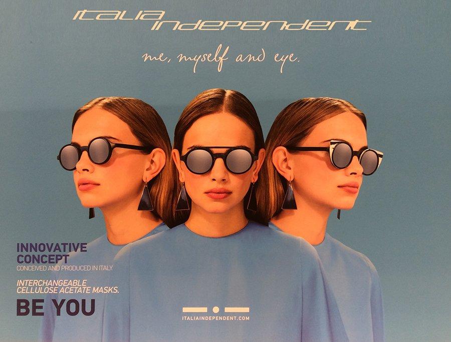 occhiali da sole a marchio  ITALIA INDIPENDENT