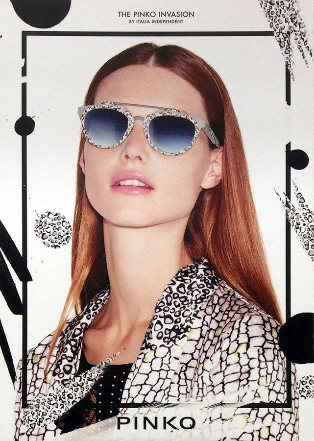 occhiali da sole a marchio  PINKO