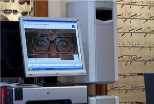 test per la vista, lenti su misura, lenti personalizzate