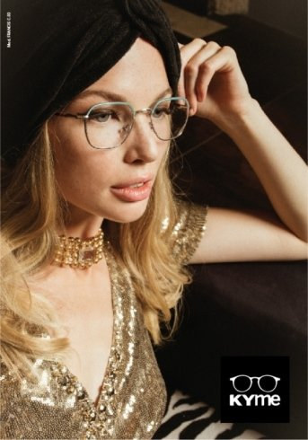 occhiali da vista a marchio KYME
