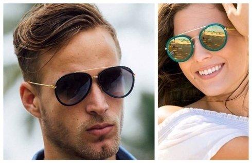 occhiali da sole donna e uomo