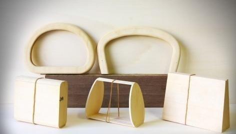 accessori in legno per pelletteria ed argenteria