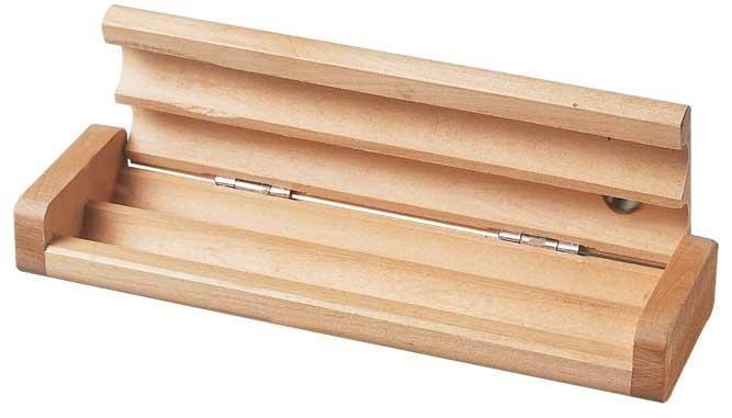 astuccio in legno