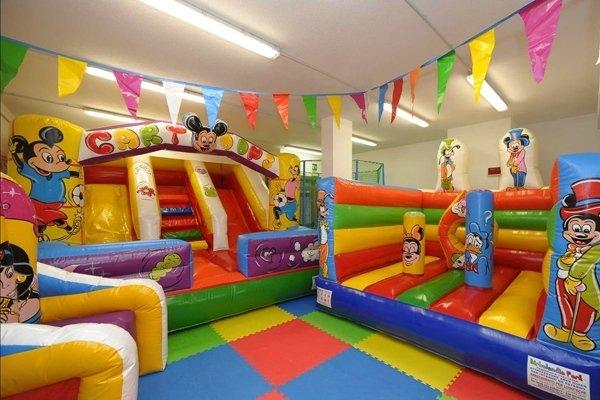 area bambini albergo