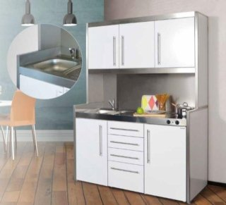 k chen aus holz bergamo italien f m progetto cucina. Black Bedroom Furniture Sets. Home Design Ideas