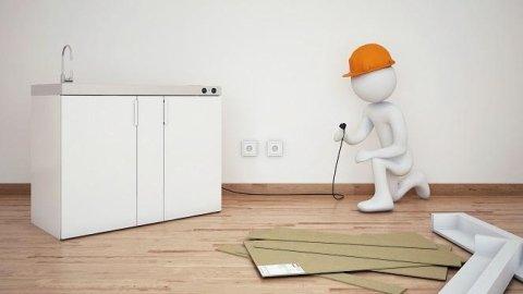 Installation Miniküchen
