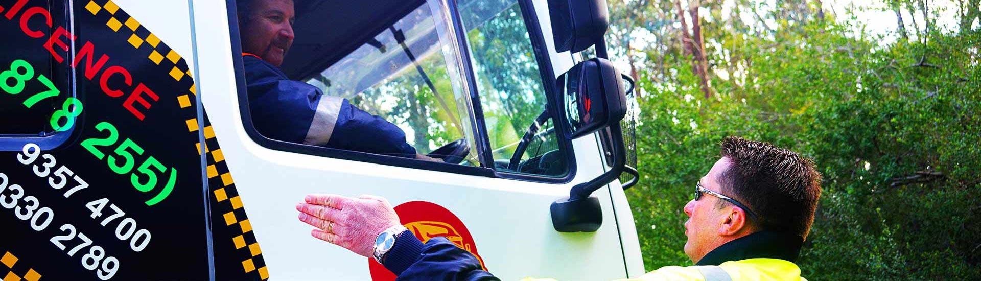 heavy truck driving class