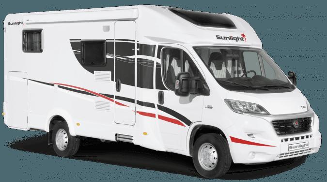 2 and 4 Berth Motorhome and Camper Rental in Ireland