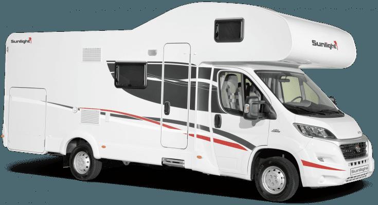 6 Berth Motorhome Camper Rental in Ireland