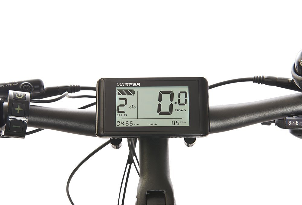 Electric Bicycle Computer and Trip Meter