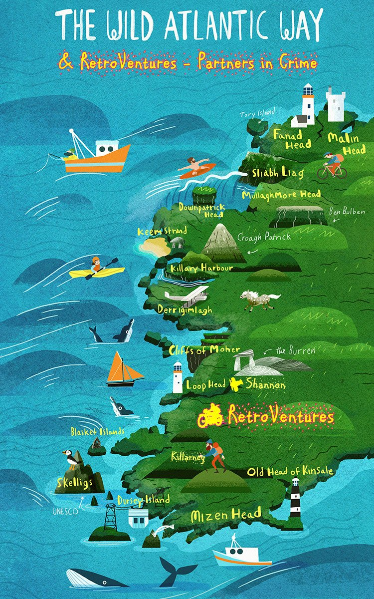 Wild Atlantic Way and RetroVentures