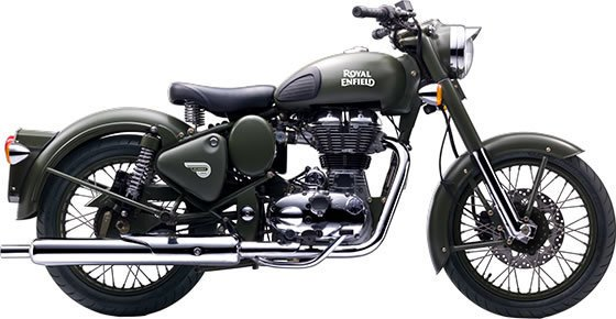 Royal Enfield Battle Green Rental in Ireland