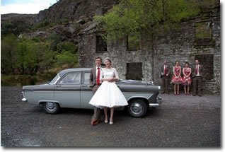 Self Drive Wedding Car - Ford Zodiac Romance