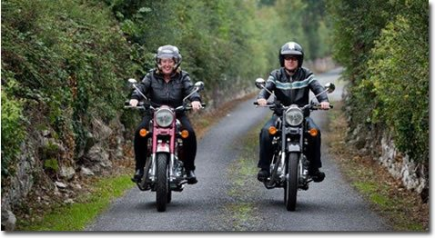 Motorcycle Hire Rental in Ireland