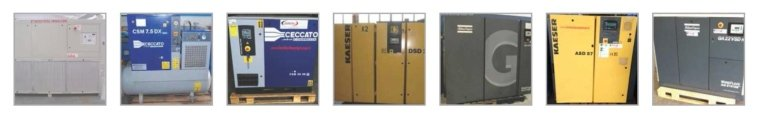 compressori e refrigeratori usati