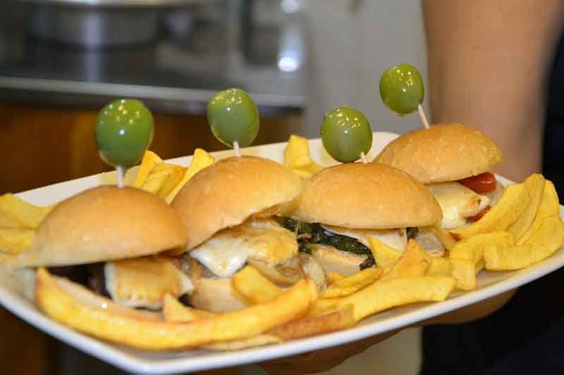 Panino con Hamburger a Napoli