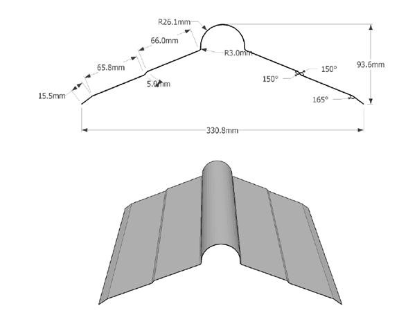 Ridge Caps Specifications