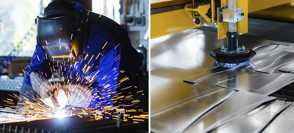 Custom fabrication montage