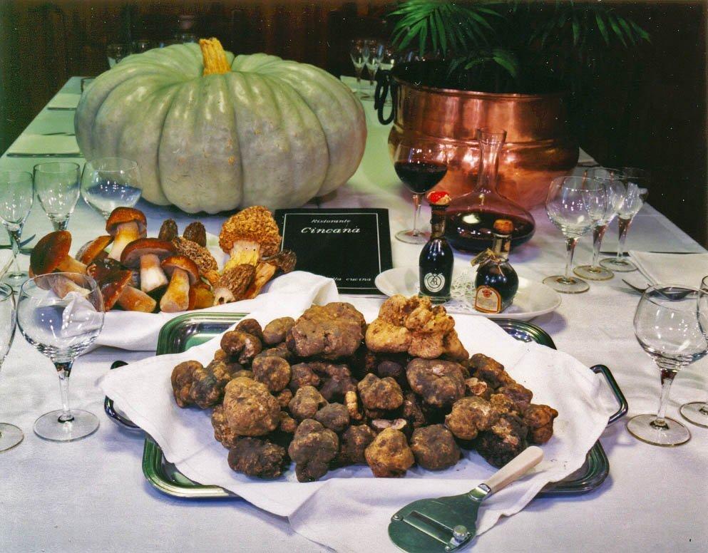 cucina mantovana a base di tartufo