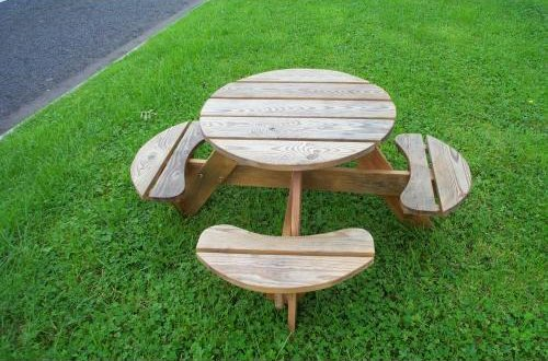 Glenduns Children S Garden Table And Chairs