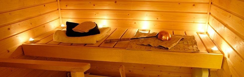 sauna e idromassaggio istituto estetica Sandra Recco