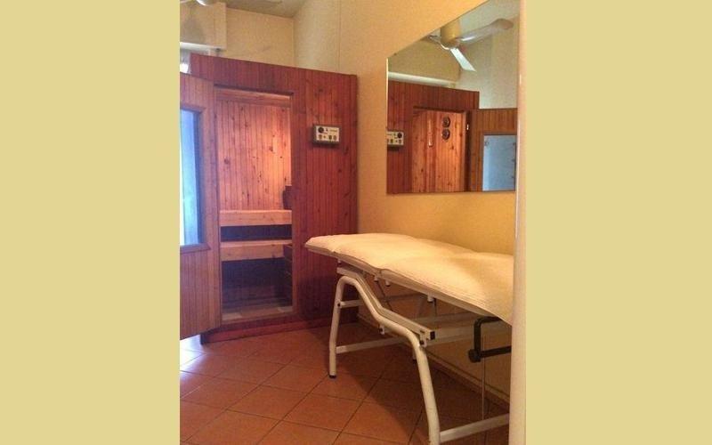 sauna benessere Istituto di bellezza Sandra Recco