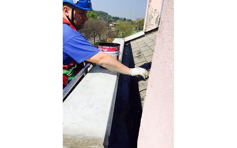 Operatori della manutenzione grondaie