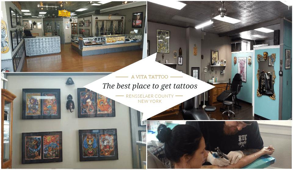Tattoo Shop Troy, NY & Rensselaer, NY