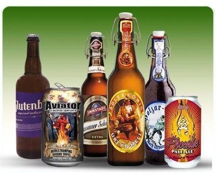 Diverse bottiglie di  birre artigianali