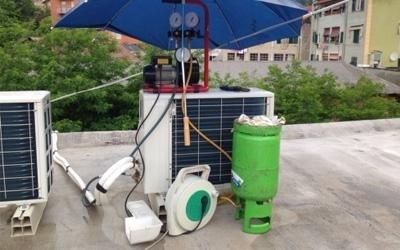 Manutenzione climatizzatore esterno