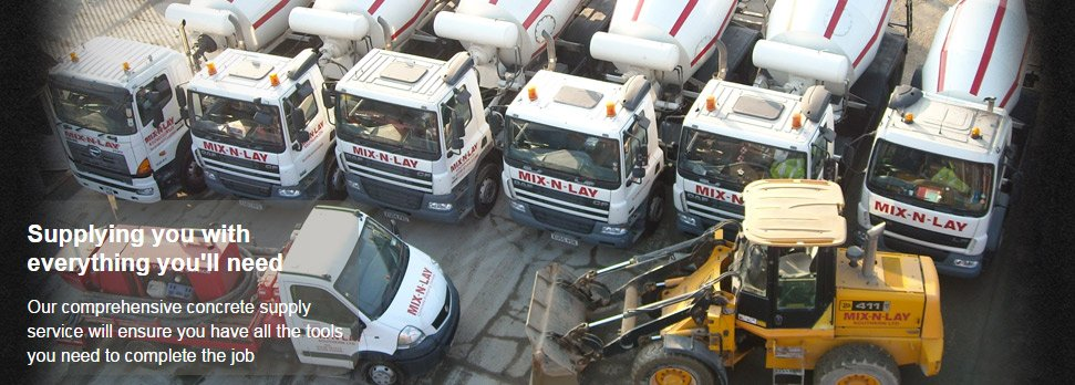 If you're looking for a concrete contractor in Rainham call Mix-N-Lay Concrete Supplies